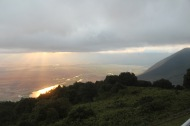 Sunrise over Ngorongoro